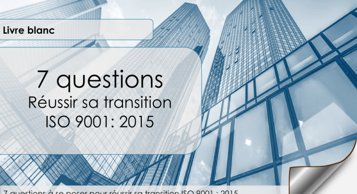 transition ISO 9001 2015