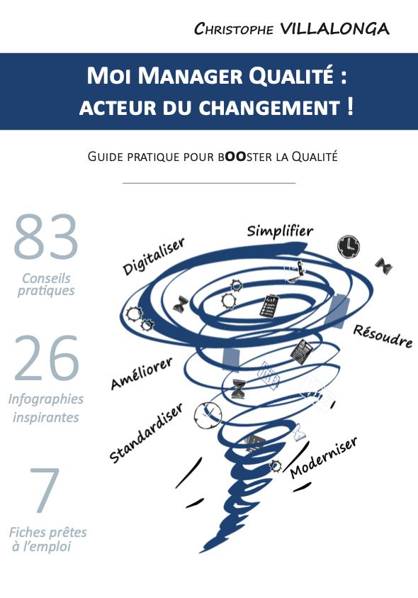 Livres et outils qualité, livre iso 9001 Moi, manager qualité : acteur du changement