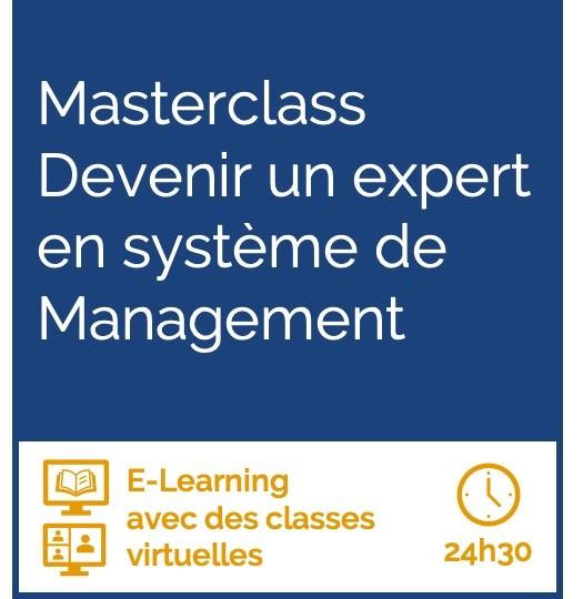 Formation La masterclass devenir un expert en système de management