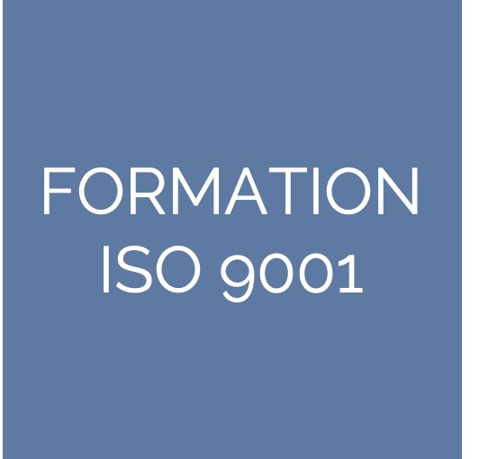 Formation à l'ISO 9001