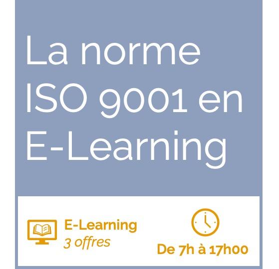 Formation La norme ISO 9001 en E-Learning