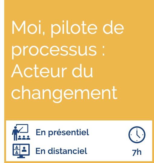 Formation Pilote de processus
