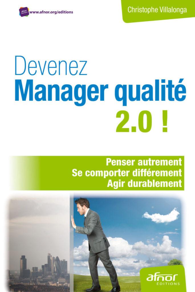 Devenez manager qualité 2.0, Livre responsable qualité QSE, livre qualité